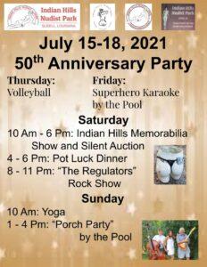 Indian Hills Nudist Park 50th Anniversary Celebration