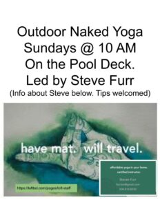 Outdoor Naked Yoga